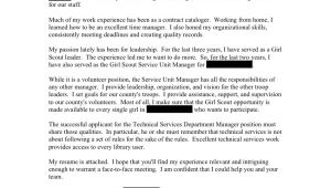 Head Of Department Cover Letter Department Head Open Cover Letters