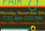 Health and Wellness Fair Flyer Template Company Health Fair Flyer Graphic Design School Health