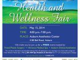Health and Wellness Fair Flyer Template Health Fair May 15 Vibrance Medical Spa