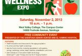 Health and Wellness Fair Flyer Template Silicon Valley Health and Wellness Expo Svhapsvhap