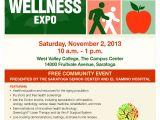 Health and Wellness Fair Flyer Template Silicon Valley Health and Wellness Expo Svhapsvhap