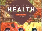 Health and Wellness Flyer Template Health Fair Flyer Template 2 by Seraphimchris Graphicriver
