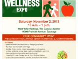 Health and Wellness Flyer Template Silicon Valley Health and Wellness Expo Svhapsvhap
