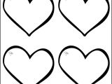 Heart Template for Printing 25 Heart Template Printable Heart Templates Free