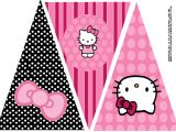 Hello Kitty Birthday Banner Template Free A to Z for Moms Like Me Hello Kitty Birthday Party