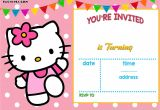 Hello Kitty Invitation Card Background 35 Hello Kitty Birthday Invitation Template Hello Kitty