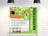 Herbalife Flyer Template Custom Print Ready Herbalife Contact Flyer by Ajsgraphdesign