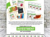 Herbalife Flyer Template Custom Print Ready Herbalife Energy Products Contact Flyer