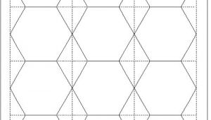 Hexagon Template for Paper Piecing Tips for Cutting Hexagon Templates Geta 39 S Quilting Studio
