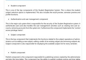 High Level software Design Document Template Example for Sds Document In software Engineering
