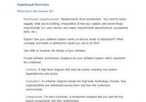 High Level software Design Document Template High Level software Design Document Template Functional