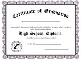 High School Diploma Certificate Fancy Design Templates High School Diploma Template Cyberuse