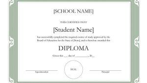 High School Diploma Certificate Fancy Design Templates Templates Certificates Fancy High School Diploma