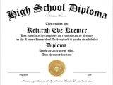 High School Graduation Certificate Template 30 Free High School Diploma Template Printable