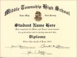 High School Graduation Certificate Template 50 Free High School Diploma Template Printable
