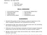 High School Student Resume for College Sample High School Student Resume 8 Examples In Word Pdf