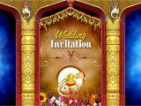 Hindu Wedding Invitation Card Background Design Flex Designs for Marriage Psd Backgrounds Free Downloads