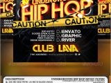 Hip Hop Party Flyer Templates Underground Hip Hop Party Flyer by Romacmedia Graphicriver