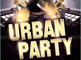 Hip Hop Party Flyer Templates Urban Hip Hop Party Flyer Template Party Flyer Templates