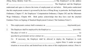 Hiring Contract Template 18 Employment Contract Templates Pages Google Docs