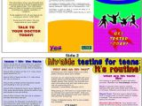 Hiv Brochure Template Hiv Aids Brochure Templates Csoforum Info