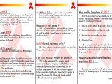 Hiv Brochure Template Hiv Brochure Gallery