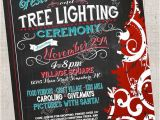 Holiday Boutique Flyer Template Festival Of Trees Tree Lighting Christmas Holiday