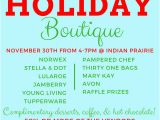 Holiday Boutique Flyer Template Holiday Boutique Flyer 2 Indian Prairie Pto