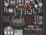 Holiday Boutique Flyer Template Holiday Craft Boutique Fair Show Flyer Poster