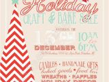 Holiday Boutique Flyer Template Holiday Craft Boutique Fair Show Printable Flyer Poster