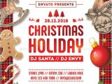 Holiday event Flyer Template Free Christmas Holiday Flyer Template Psd Christmas Flyer