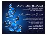 Holiday event Flyer Template Free Holiday Fundraiser event Flyer Template Zazzle