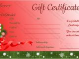 Holiday Gift Certificate Template Free Download 20 Holiday Gift Certificate Templates Free Sample