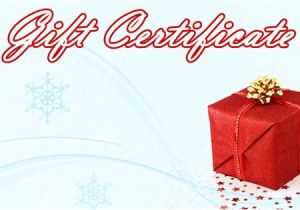 Holiday Gift Certificate Template Free Download Christmas Gift Certificate Template 16 Word Pdf