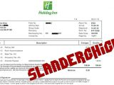 Holiday Inn Receipt Template Holiday Inn Receipt Images Reverse Search