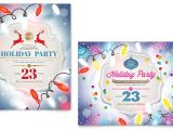 Holiday Party Flyer Template Publisher Holiday Party Poster Template Word Publisher