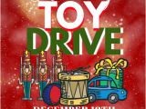 Holiday toy Drive Flyer Template Free Christmas Template Postermywall