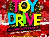 Holiday toy Drive Flyer Template Free toy Drive Flyer Template Postermywall