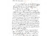 Holographic Will Template Personal Letter format Handwritten Examples and forms