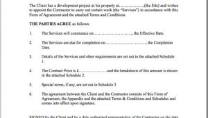 Home Building Contract Template Construction Contract Template Cyberuse