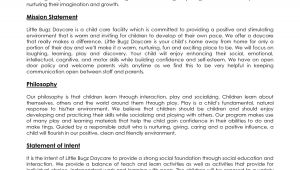 Home Daycare Business Plan Template Impressive Group Home Business Plan 3 Day Care Business