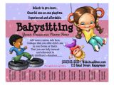 Home Daycare Flyers Free Templates Babysitting Day Care Customizable Template Flyers
