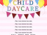 Home Daycare Flyers Free Templates Daycare Flyer Template Postermywall