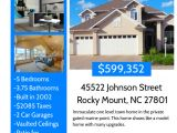 Home for Sale by Owner Flyer Template Real Estate Flyer Template Postermywall