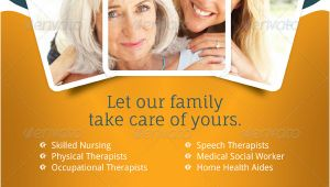 Home Health Care Flyer Templates Home Care Flyer Templates by Grafilker Graphicriver