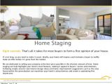 Home Staging Flyer Templates Listing Services by Mary Beth Welsh June 2014