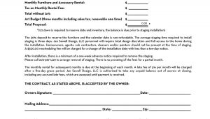 Home Staging Proposal Template Home Staging Contract Template Bing Images Stg