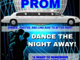 Homecoming Dance Flyer Template Prom Template Postermywall