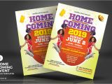 Homecoming Flyer Template Homecoming event Flyers Corporate Identity Template 71796