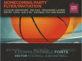 Homecoming Flyer Template Homecoming Flyer Invitation Graphicriver